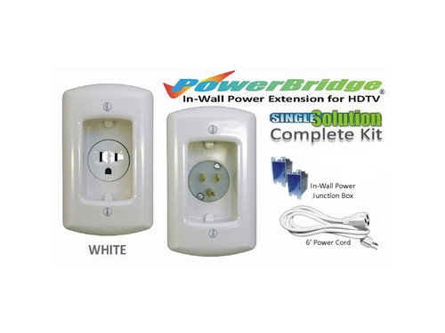 Powerbridge Single Solution Kit, White