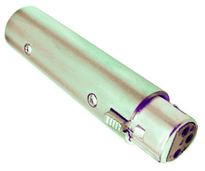 XLR Male to Female phase adapter