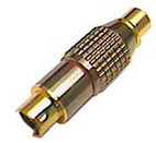 RCA Composite Video to S-Video Adapter, gold plated