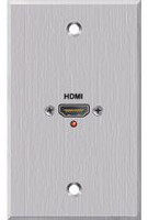 Panelcrafters precision manufactured HDMI female pigtail Wallplate