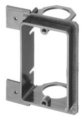 Low Voltage Mounting Brackets for New Construction- Single gang