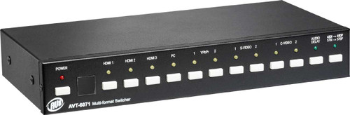 AVT-6071 Multi-format Switcher