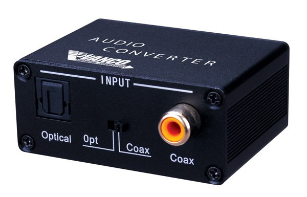 Digital Audio Converter with Dual Outputs with up to 192KHz sampling rate