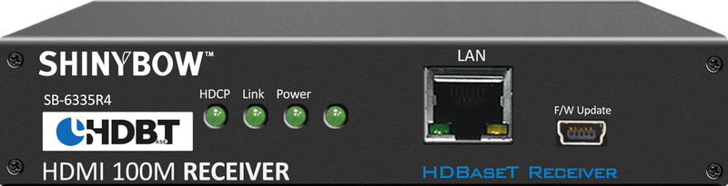Shinybow SB-6335R4 HDBaseT receiver