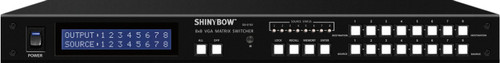 Shinybow SB-8180LCM 8x8 VGA Matrix Routing Switch