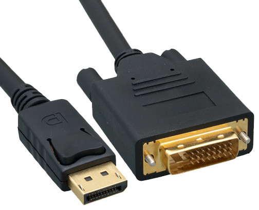 DisplayPort to DVI Video Cable