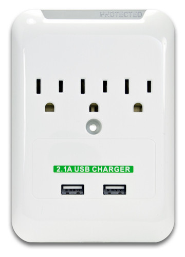 AC and USB wall plate