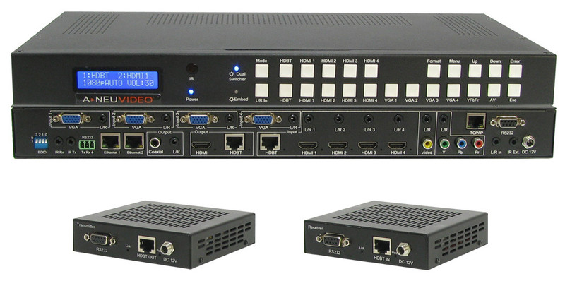 A-Neuvideo ANI-11x2MFS set with receivers