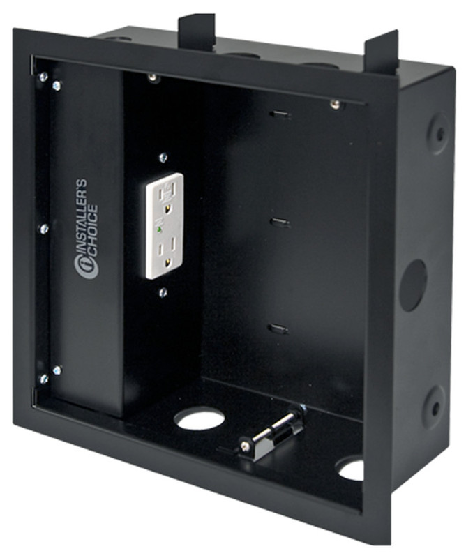Installers Choice ICCB10-1 Flat Panel TV mounting accessory back box