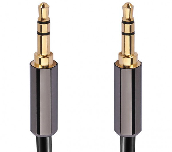 Calrad 55-897-HG High Performance 3.5mm mini plug Male to Male Cable