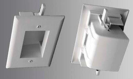 Easy Mount Low Voltage Cable Plate