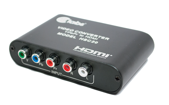 CE Labs HSC20 Component video to HDMI converter