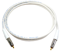 CDP - Belden 1695A Plenum Rated RG6U Audio or Video Cable with Canare RCA Connectors