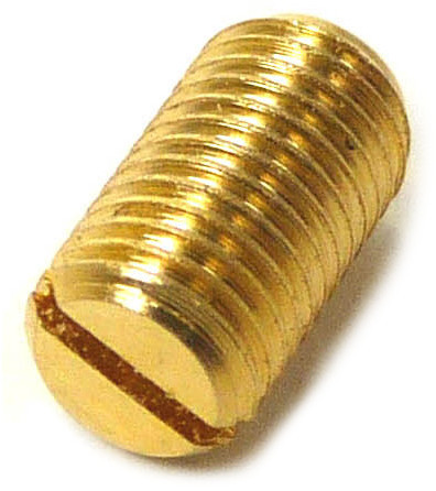 6mm long Gold plated Set Screw