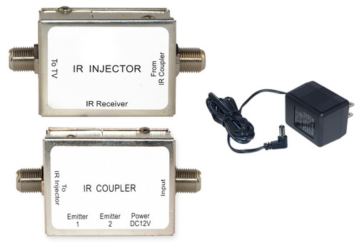 IR over Coaxial Cable kit, Includes Injector and Coupler, 30T3-00350