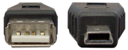 USB Mini-B 5 Pin Male Adapter