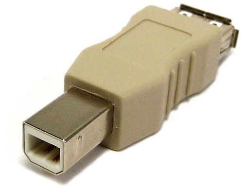 USB adapter A-female to B-male