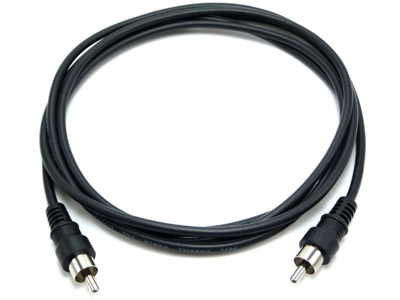 RCA Cable, Male to Male, RG174