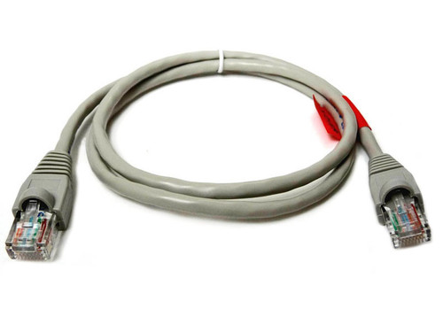 Cat5e crossover patch cable, color gray