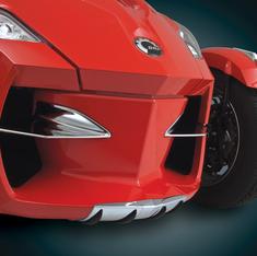 Spyder RT Protection Nez Avant Chromé  (RT 2010-2013)