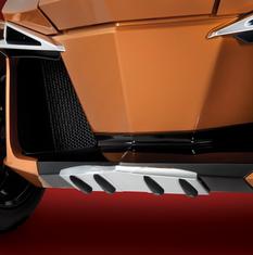 Spyder RT Protection Nez Avant Chromé  (RT 2014 et plus)