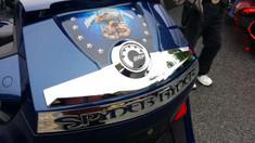 Spyder RT Accent Chromé #301 - Dôme Uréthane (RT 2010 et plus)