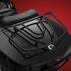 Spyder F3T et LTE Porte-bagage Noir (2016 et plus)