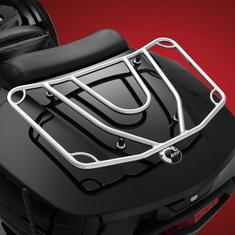 Spyder F3T et LTE Porte-bagage Chromé (2016 et plus)