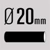 Diameter 20
