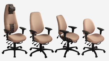 ErgoCentric Seating - Home Office Chairs