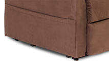 Pride Mobility Essential Collection LC-105 Lift Chair Convenient Storage