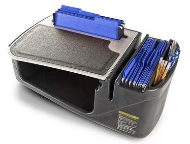AutoExec Efficiency FileMaster Desk w/ Extra Hanging File Holder - AEFile 02