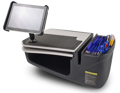 AutoExec Mobile Desk For Car with Universal ipad Tablet Mount