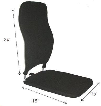 "Mccarty's Sacro Ease Memory Foam Car Seat & Back 24/18 Models 19"" - (BRCCF 24/18), 15"" - (BRSCMCF 24/18) 12"" - (BRNCCF 24/18)"