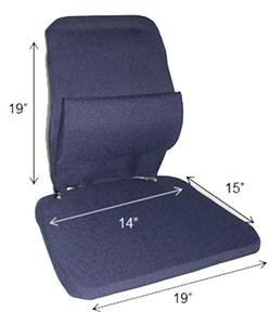 Mccarty's Sacro Ease Trimet Posture Seat Insert For Truck & Bus