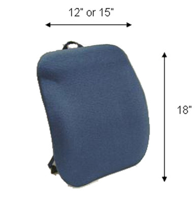 "Sacro Ease Keri Back, Back Cushion For Car Seat or Chair - Mccarty's -	 KBN (12""), KBT (15"")"