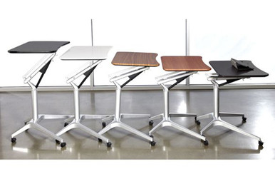 WorkPad Mobile Standing Desk for Sit to Stand Computing