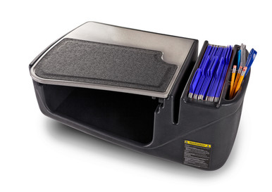 AutoExec GripMaster-02 Elite Mobile  Car Desk with Built-In Power Inverter to  power  all  your  mobile  devices  while  you  work.