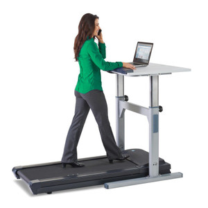 LifeSpan Height Adjustable Manual Treadmill Desk TR1200-DT5