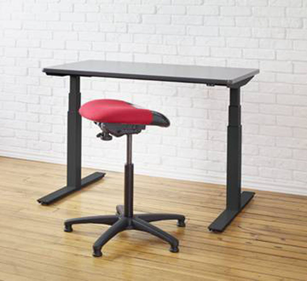 Merveilleux Ergonomic Sit Stand Desk Stool By ErgoCentric