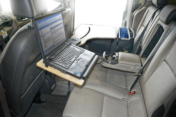 Mobile Office Vehicle Reach Desk Elite-01 BS (Back Seat) AutoExec