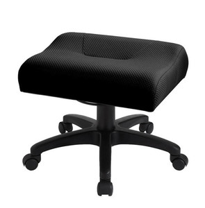 Ergocentric Adjustable Height Leg Rest/Padded Foot Stool