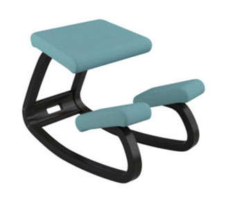 Variable balans In Black Lacquered Ash With Turquoise Revive By Varier