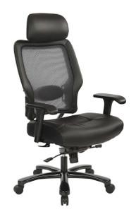 OSP Heavy Duty High-Back Executive Big and Tall Chair