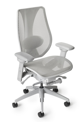 tCentric Hybrid™ Light Gray Ergonomic Task Chair