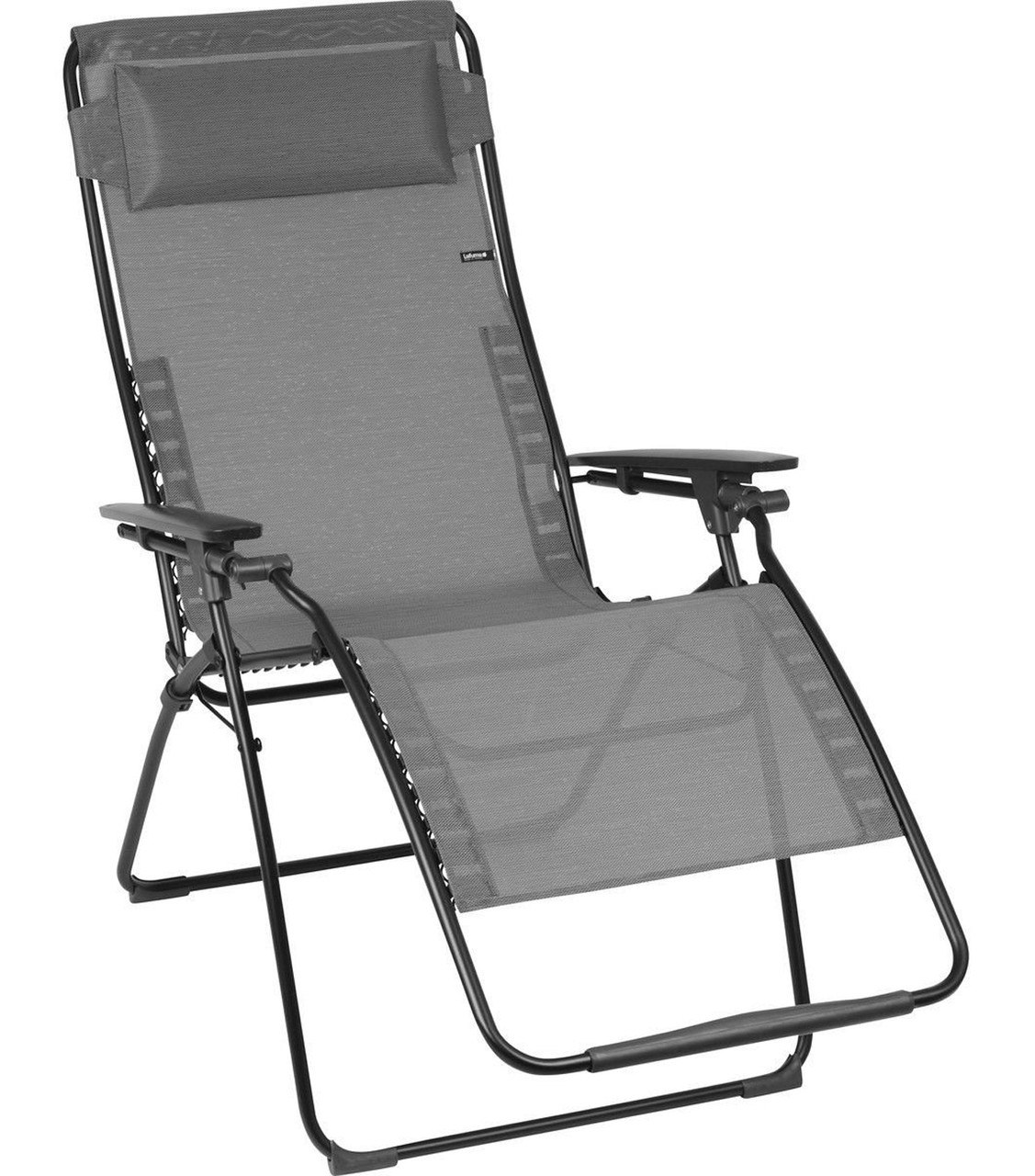 Lafuma Futura XL Zero Gravity Relaxation Chair, Graphite | Healthy Posture  Store