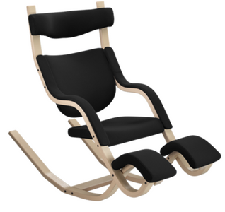 Gravity Balance 2330 Varier Recliner Natural Ash