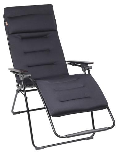Lafuma Futura Air Comfort Zero Gravity Chair, Acier Cushion