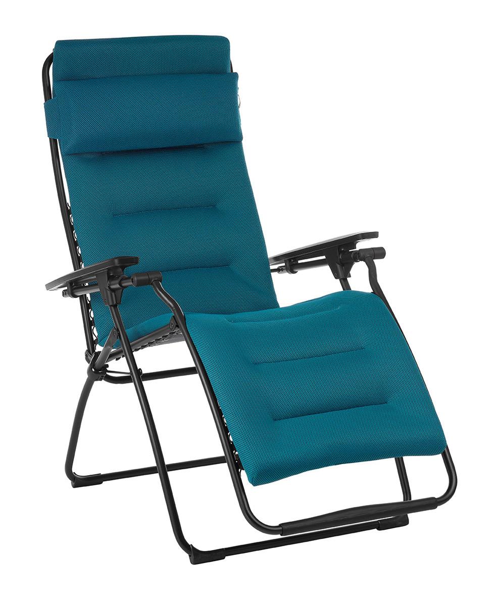 Futura Air Comfort Reclining Zero Gravity Chair Coral Blue By Lafuma | Healthy Posture Store  sc 1 st  Healthy Posture Store & Futura Air Comfort Reclining Zero Gravity Chair Coral Blue By ...