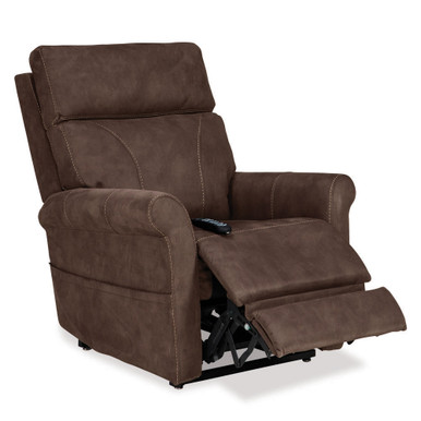 Urbana Lift Chair Contemporary Power Recliner & Lift By Pride VivaLift, Stonewash Granite
